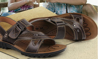 Wholesale 2013 new leather sandals men s shoes sandals casual leather men s sandals