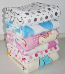 Wholesale 100 Coral Fleece Baby Blanket Baby Coralon Leather Blanket Soft Double Side Fleece Baby Quilt