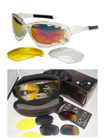 Wholesale Brand New Cycling Glasses Racing Jacket Sport Sunglasses Transparent Frame Black Socks