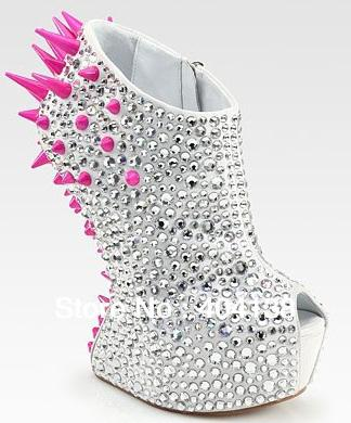 Dropshipping 2012 Sexy No Heel Shoes Brand Rhinestone Women ...