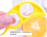 Plastic orange peel - new design peel orange easily remove the orange peel safe peeler Stripper
