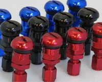 Wholesale Dyno RAYS set Forged Aluminum Tire Valve Stem Caps Tyre colour freeshipping