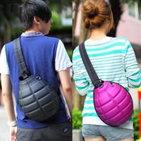 Wholesale Fashion Creative Grenade Stylish Bag Backpack Aslant Bags Satchel Travel Shoulder Bag Messenger Bag