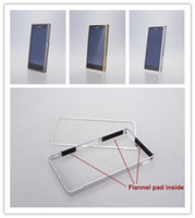 For Samsung   New Aluminum Alloy metal bumper frame case for Sony Xperia Z L36H L36I L36a mix 5pcs lot package