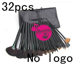 Wholesale 32 makeup brush suit wool brush Foreign trade professional Advanced brush sets black handle Z8010