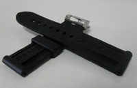 Wholesale New mm Watch Rubber Bands Strap Deployment Buckle Tan Buckle Fit Officine Luminor Series Watches