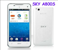 Wholesale Original quot Sky Vega A800S Android Dual Core Cell Phone GHz GB RAM GB ROM G Phone