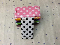 Wholesale Sony Xperia J Case Polka dot Soft TPU Case Clolorful