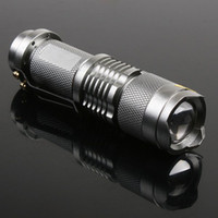 LED Flashlight Mini LED Torch 7W 300LM CREE Q5 Adjustable Fo...