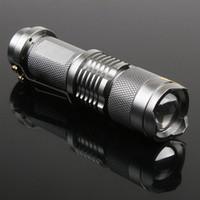 LED Flashlight Mini LED Torch 7W 300LM CREE Q5 Adjustable Fo...