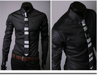 Men 100% Linen  NEW Mens Slim Fit Luxury Dress Shirts mens shirt