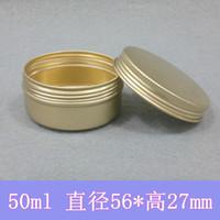 aluminum cans crafts - ml Mat Aluminum Can Metal Box Gold Aluminum Bottle Aluminum Container Cosmetic Packaging