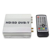 USB TV Tuners 数字卫星机顶盒  New Car Digital HD DVB T TV Receiver HDMI EPG MPEG 4 H 264 PVR Remote Control