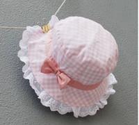 Visor Girl Summer baby cap children hat delicate lacework girl bucket hat girl Fisherman Hat kids sunhat summer wear