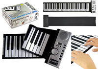 Wholesale New Keys Flexible Roll Up Soft Electronic Keyboard Piano Soft Synthesizer