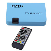USB TV Tuners 数字卫星机顶盒  Digital TV Box LCD VGA AV Output Tuner DVB T View Receiver Brand New