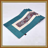 cotton table runner - New Designs Wedding Reception Table Runners Decorate High Quality Cotton Splice Long Table Cloth Free