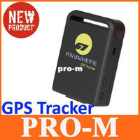 6.4 * 4.6 * 1.7cm alarms mercedes - Free Real Time Mini Global GPS GSM GPRS Tracker Monitor Tracking Device System Anti theft Alarm Tool