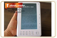 Wholesale 2013 High quality E book Reader inch TFT Screen GB GB Multi function ebook reader MP3 FM radio