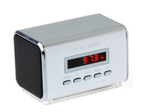 Wholesale Mini Speaker MP3 Player Amplifier Micro SD TF Card USB Disk Computer Speaker with FM Radio
