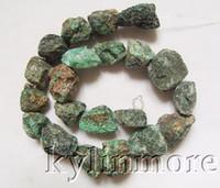azurite rough - 8SE08186a mm mm Azurite Malachite Rough Nugget Beads quot