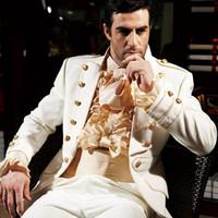 Wholesale Groom Tuxedos Best Men s Suits Groomsman Bridegroom Wedding Dress Custom made Jacket Pants Girdle Men s dress