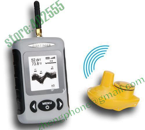 wireless fish finder with sonar sensor with 2.8 inch display, Fish Finder