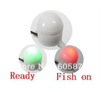 Wholesale NEW Night Fishing Rod Tip Clip on Fish Bite Alarm Alert Strike Light FISH FINDER