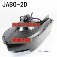 Wholesale 2013 Newest remote control rc Bait Boat JABO D With Fish Finder amp Backward turning ship