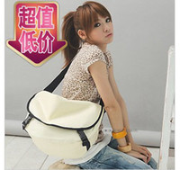 Wholesale 2013 new female bag design students cute candy color bag pupil bag shoulder inclined shoulder bag
