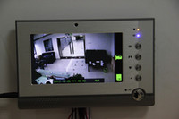 Wholesale 1pcs Inch Monitor Video Door Phone Intercom With MMS SMS Alarm Digital TFT LCD Built in Camera