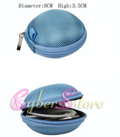 Universal   50pcs Carrying Storage box Bag Retail Pakcage Case Cover For Earphone ,USB cable, Coin etc.