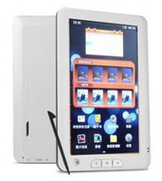 Wholesale 2013 Newest E book Reader quot TFT Touch Screen GB GB Multi function Ebook Reader MP3 MP4 FM Radio