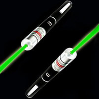 Wholesale 5mW nm Green light Beam Laser Pointer Pen efit SOS Mounting Night Hunting teaching Xmas gift
