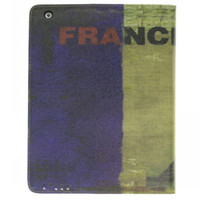 Wholesale vintage case for ipad stand leather case France style OLD STYLE protectable