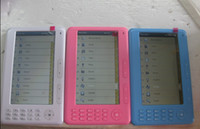 Wholesale 2013 High quality Ebook Reader inch TFT Touch Screen Rockchip GB Ebook Reader MP3 FM Radio