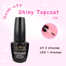 Wholesale Soak Off uv topcoat top gel uv gel naill Polish color gel nail polish hot sale