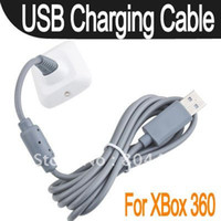 Wholesale 50pcs New USB Play and Charger Charge Cable Adapter For Xbox Controller GX