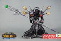 Wholesale WOW World of warcraft DC1 Undead Warlock Meryl Felstorm PVC Action Figure Toy quot WWFG015