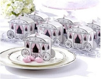 Wholesale 100pcs Carriage Favor Box favour Wedding box pumpkin Carriage wedding box