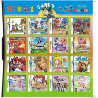 Wholesale 260 in Game in one Multi Games Card for dsi ndsl ds System