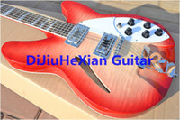 Wholesale Newest Strings red Rock Electric Guitar Top Musical instruments EMS free shipp