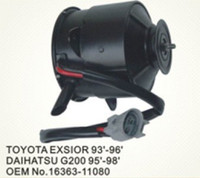 Wholesale Toyota Cooling Fan Motor for Toyota Exsior Daihatsu G200 Part NO