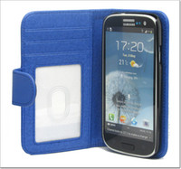 Wholesale Wallet Card Book Leather Case Cover For Samsung Galaxy S4 i9500 Flip holder Pouch Skin