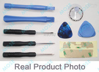 Wholesale 9 in REPAIR PRY KIT OPENING TOOLS TOOL FOR cell phone APPLE IPHONE iphone4 G sets
