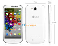 Wholesale THL W8 Quad core cell phone mtk6589 Android smart phone inch x720 pixels G RAM G ROM