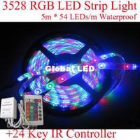 Wholesale DC12V meters LED SMD RGB SMD LED Flexible LED Strip light L M waterproof High intensity
