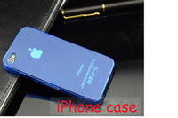 Wholesale Hard Plastic PC Clear Transparent Skin Back Cover Case For Iphone amp S