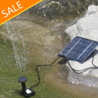 Wholesale Fountain Soar Pump Pool Water Pump Garden Plants Watering Kit Solar Power Water Pump
