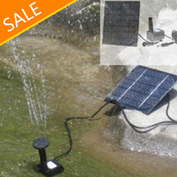 Wholesale High quality Pool Water Garden Plants Watering Kit Solar Power Fountain Soar Pump Water Pump